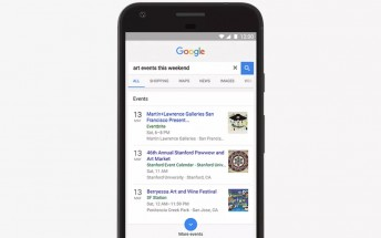 Google Search on mobile now lets you easily find events nearby