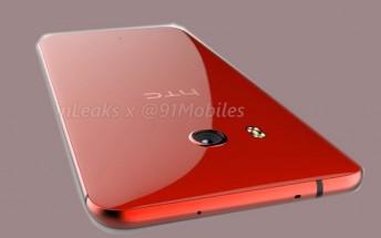 Red HTC U 11 appears, virtual render leaks
