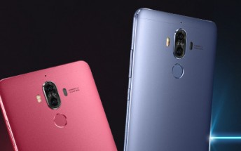 Huawei Mate 9 gets two more colors: Agate Red and Topaz Blue