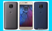Moto G5S leaks in three colors and a full-metal body