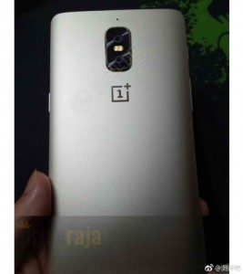 (Alleged) OnePlus 5 prototype: notice the LED flash