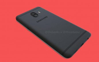 Samsung's Galaxy C10 first dual camera smartphone leaks in HD renders and video