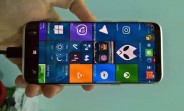 Alleged Galaxy S8 running Windows 10 Mobile appears