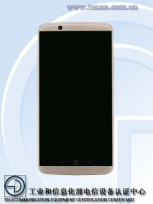 ZTE A2018 (Photos by TENAA)