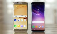 Samsung Galaxy S8 vs. Galaxy S7 edge quick camera comparison