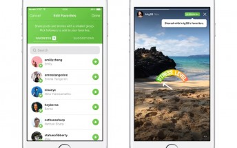 Instagram's Favorites will let you share with a specific group of people, currently in testing
