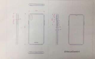 Leaked schematics: iPhone 8