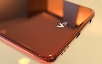 LG V30 midframe reveals wireless charging on board