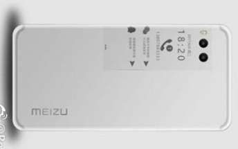 Live photo of the Meizu Pro 7 leaks