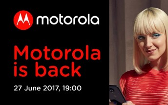 Moto Z2 will be unveiled on June 27, invite reveals