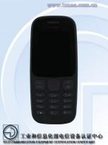 New Nokia 105 (TA-1010): in Black
