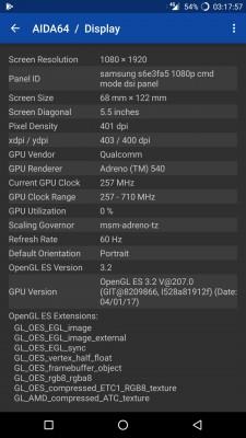 OnePlus 5 uses a Samsung S6E3FA5 AMOLED display panel