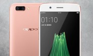Oppo R11 press renders leaked, to come in three colors