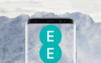 EE now taking pre-orders for Samsung Galaxy S8 in Arctic Silver