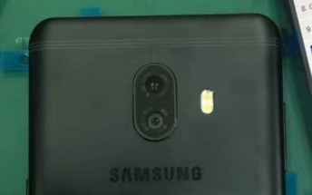 Samsung Galaxy C10 shows off a dual camera in live images