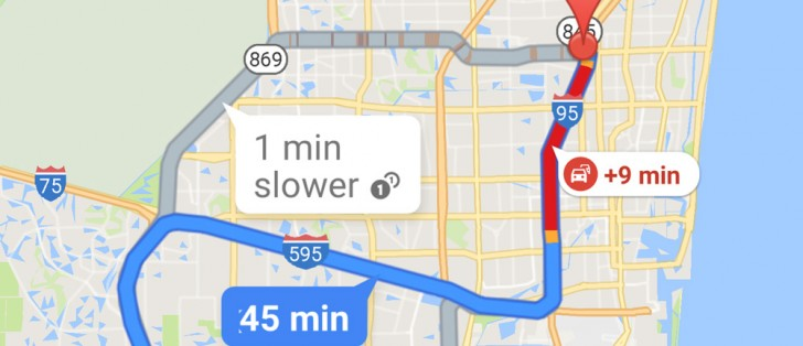 Google Maps now shows a travel time graph to your ... on google latitude, bing maps, satellite map images with missing or unclear data, bing maps platform, nokia maps, google moon, google mars, google earth, google map maker, web mapping, route planning software, google voice, google sky, yahoo! maps, google search,