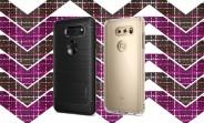 Case maker shows off LG V30's backside