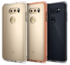 LG V30 cases: A trio of clear cases