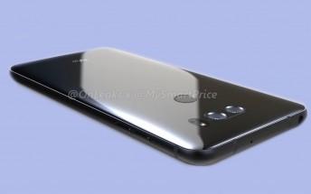 Here's an LG V30 render based on CAD designs