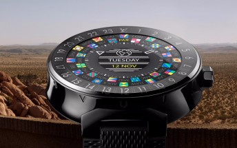 Louis Vuitton Tambour Horizon is an Android Wear 2.0 smartwatch that starts at $2,450