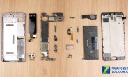 Meizu Pro 7 Plus teardown: to reach the secondary screen, remove the main screen