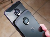 Moto Z (left), Moto Z2 Force (right) - News 17 07 Moto Z2 Force Hands On review