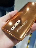Nokia 8 in gold-copper