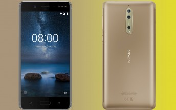 Nokia 8 camera interface leaks,  second rear cam will have monochrome sensor