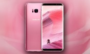 Rose Pink Samsung Galaxy S8 now available in Europe