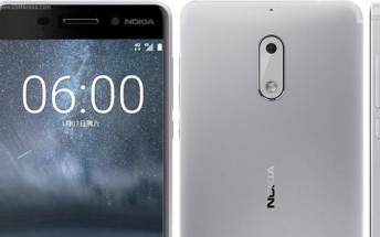 Pre-orders for silver Nokia 6 are now live in US