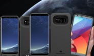 ZeroLemon delivers Galaxy S8, S8+ and LG G6 battery cases with insane capacity