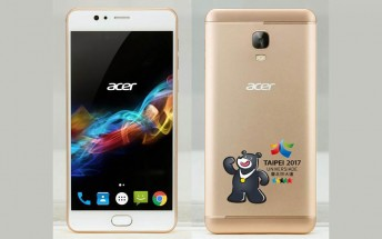 Acer Liquid Z6 Max appears with a 4,670 mAh battery and a 5.5-inch display