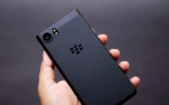 All-black BlackBerry Keyone now available in US, gets new official video as well