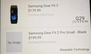 Samsung Gear Fit2 Pro pricing leaks