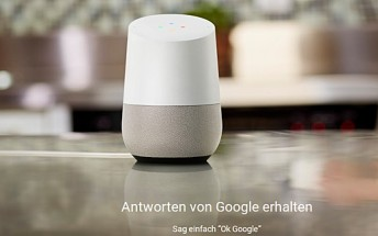 Google Home now available in Germany, costs €149