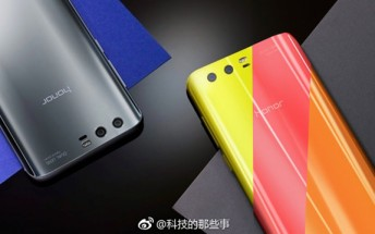 New render shows Honor 9 in three new colors