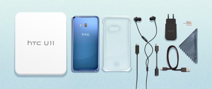 HTC U11 with 6GB of RAM and 128GB storage reaches Europe