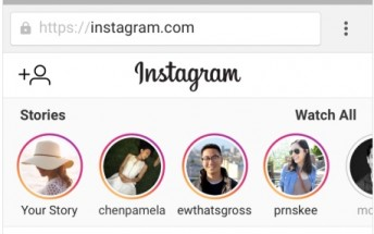 Instagram Stories now available on mobile web
