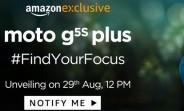 Motorola Moto G5S Plus arriving in India next week