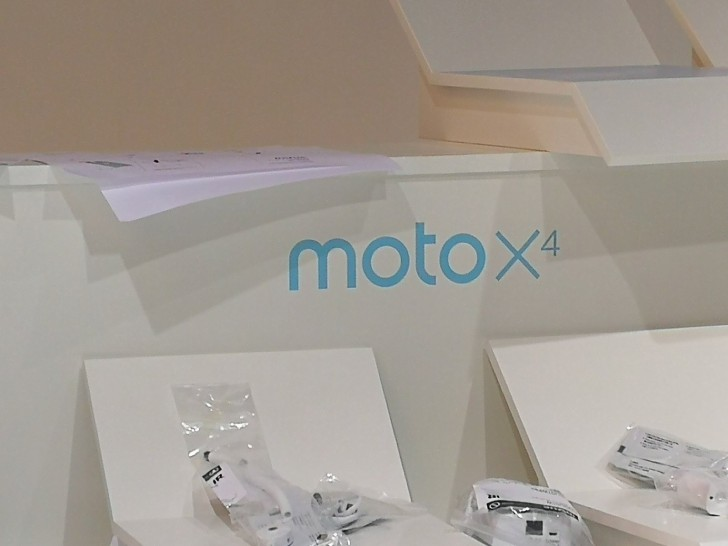 Moto X4 booth spotted at IFA