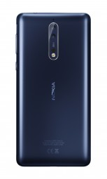 Nokia 8: Tempered Blue