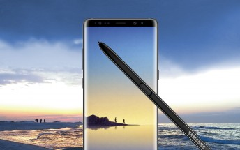 Leaked photos show the Galaxy Note8 and its S Pen