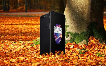 OnePlus 5: Autumn is coming, bringing a new color option with it
