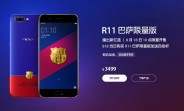 Oppo R11 FC Barcelona Edition is up for pre-order in China