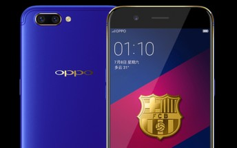 Oppo R11 FC Barcelona Edition now available