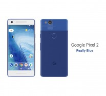 Google Pixel 2: Really Blue