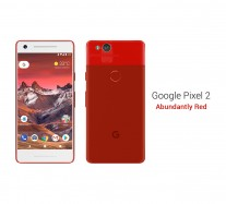 Google Pixel 2: Red / White