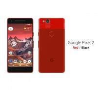 Google Pixel 2: Red / Black