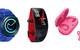 Samsung announces Gear Sport, Gear Fit2 Pro, and Gear IconX (2018)