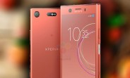 Sony Xperia XZ1 Compact renders leak in Pink